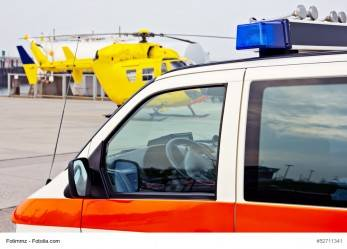 Spanien: Mann wird von rollender Plastikkugel verletzt