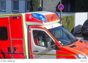NRW: Maibaum stürzt auf Bierstand