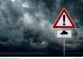 Ein Orkan wird erwartet – ist das schon Höhere Gewalt?