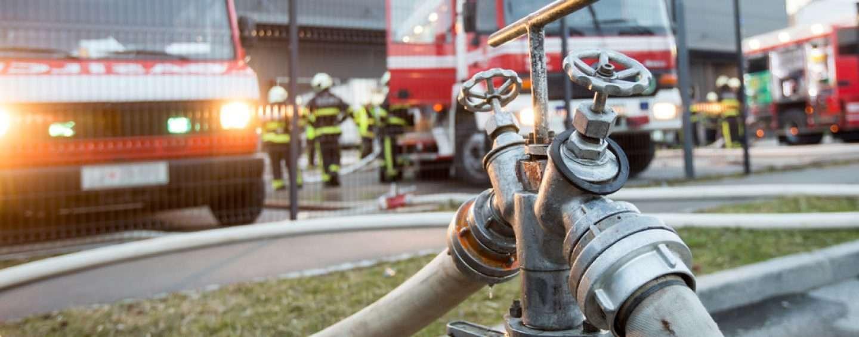 NRW: Feuer in Veranstaltungshalle