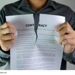 Rücktritt vom Vertrag