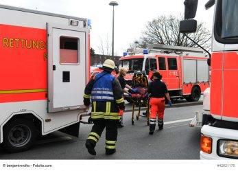 Schwerin: viele Verletzte durch Astbruch
