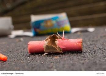 351/16 Ba-Wü: Verletzte bei Feuerwerk