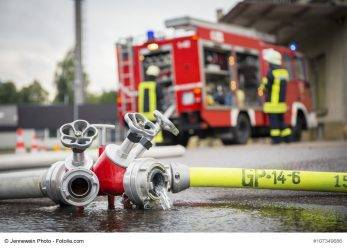 Hessen: Feuer bei Faschingsparty