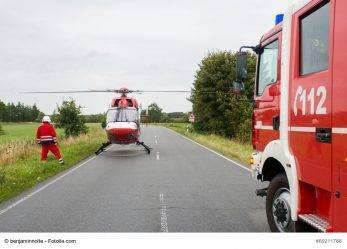 179/17 Bayern: Schwerer Unfall auf Beach-Party