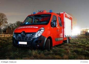 234/17 RLP: Feuerwehmann und Security von Blitz getroffen