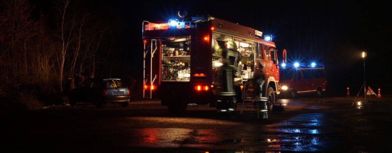 44/18 Bayern: 3 Zuschauer bei Funkenfeuer verletzt