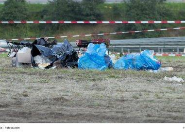 Mit Müll auf Veranstaltungen Geld verdienen?