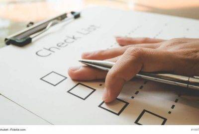 Künstlervertrag Checkliste