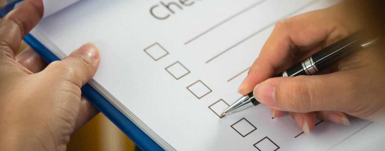 Mietvertrag Checkliste: Miete einer Location