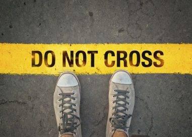 Grenzen sind Grenzen