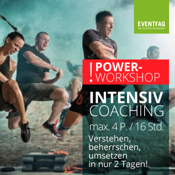 Intensiv Coaching Eventrecht