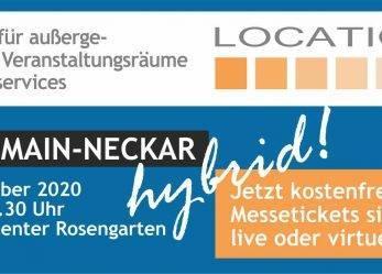 Wir sind auf der LOCATIONS Rhein-Main-Neckar