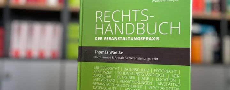 Veranstaltungsrecht Handbuch