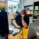 Thomas Waetke am Telefon