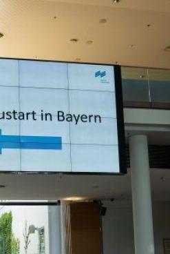 Neustart des Messegeschäfts in Bayern